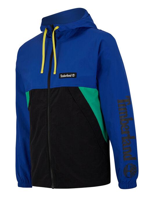 Mens Windbreaker Full Zip Jacket