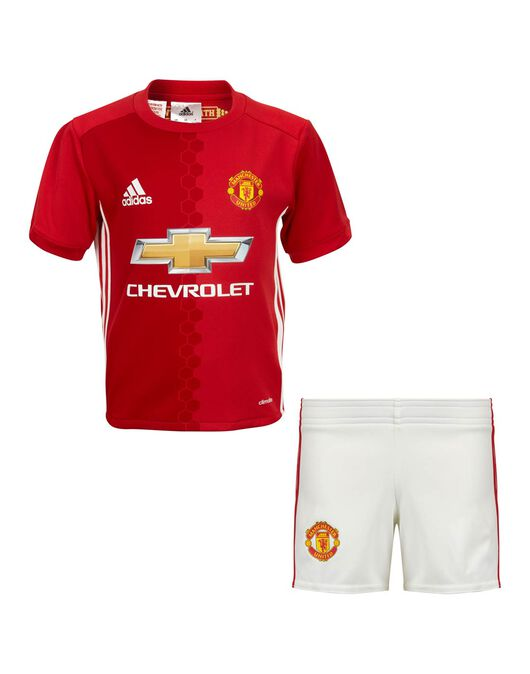 Kids Man Utd Home Kit