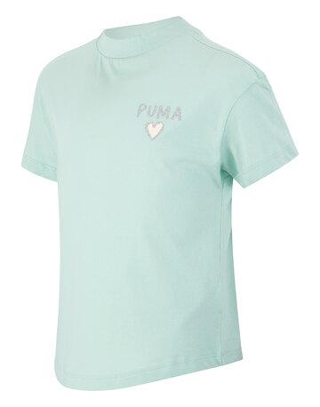 Older Girls Heart Crop T-Shirt