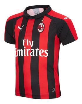 Kids AC Milan 18/19 Home Jersey