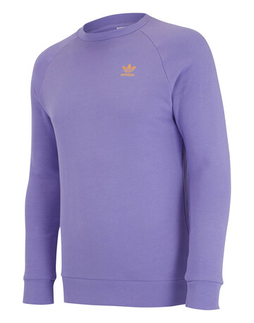 Mens Trefoil Essentials Crew Neck Sweatshirt