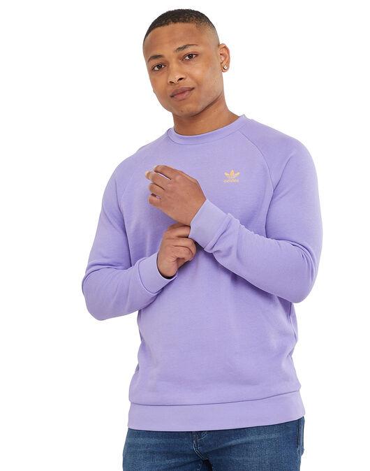 Mens Trefoil Essentials Crew Neck Sweatshirt