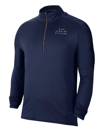 Mens Run Division Element Half Zip Top