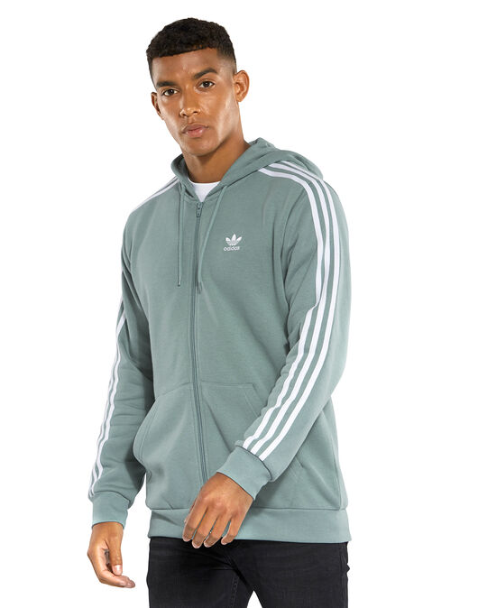 a749fdcf Men's Turquoise adidas Originals Full Zip Hoodie   Life Style Sports
