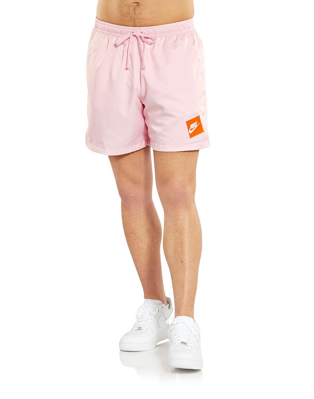 Men's Pink & Orange Nike Shorts | Life Style Sports