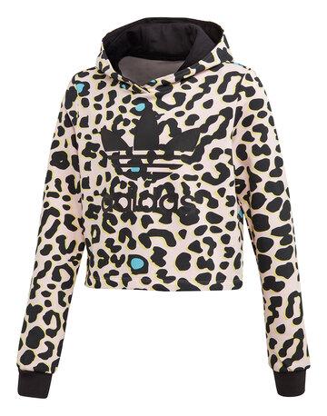 Older Girls Leopard Hoodie