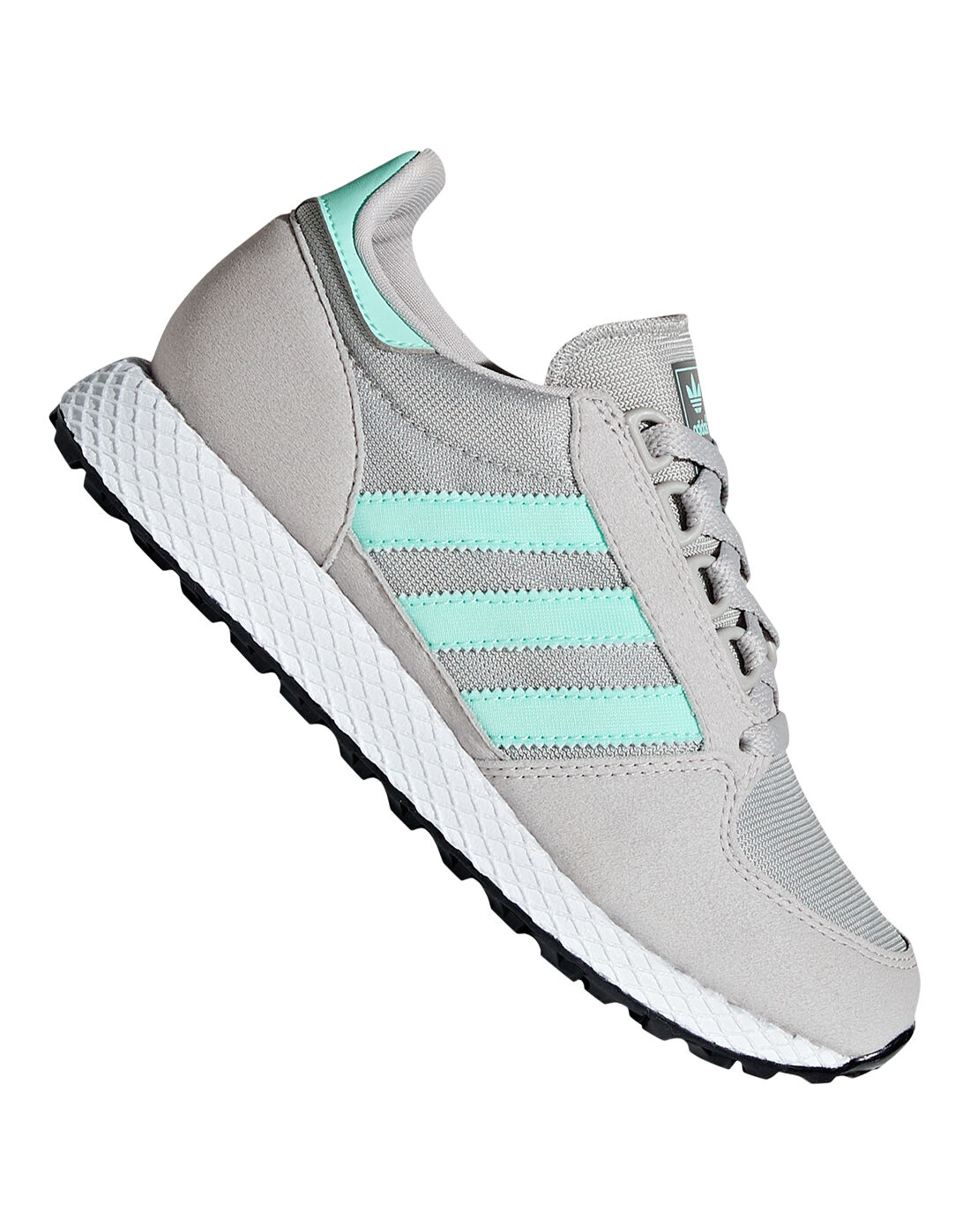 Girl's Grey adidas Originals Forest Grove   Life Style Sports