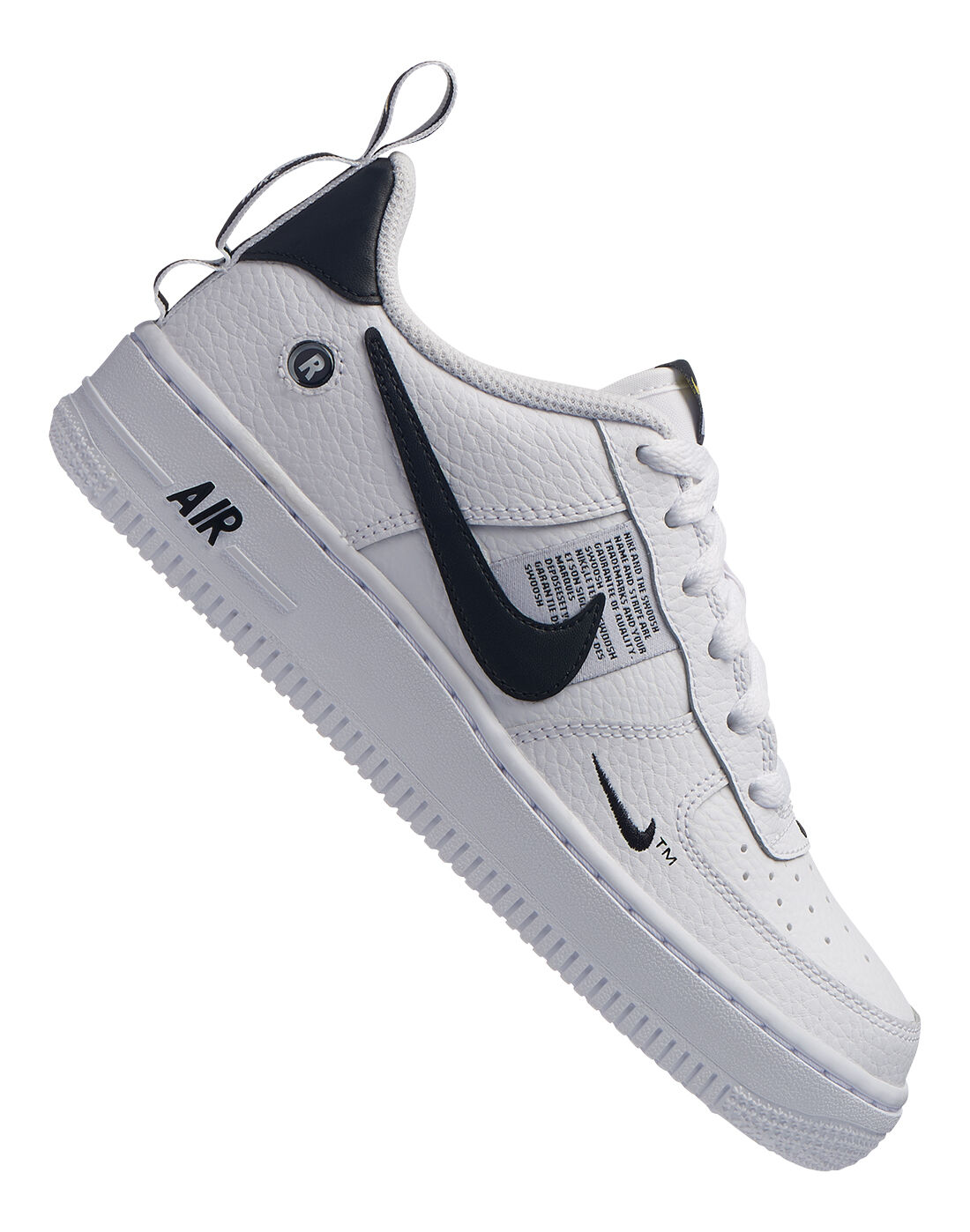 Boy's White & Black Nike Air Force 1 | Life Style Sports