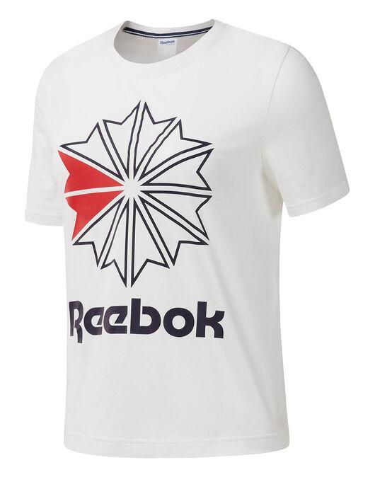730c647faf Women's White Reebok T-Shirt | Life Style Sports