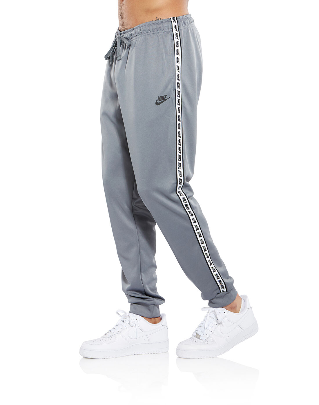 Nike Mens Repeat Poly Pants - Grey