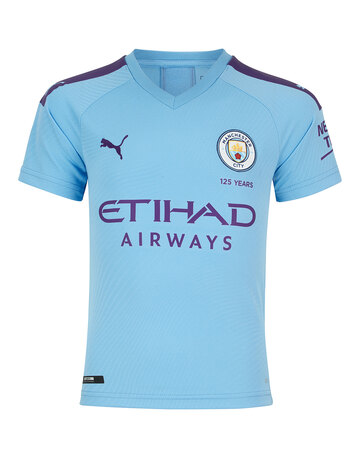 Kids Man City 19/20 Home Jersey