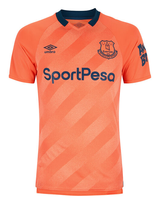 free shipping f45a2 12e77 Umbro Adult Everton Away 19/20 Jersey