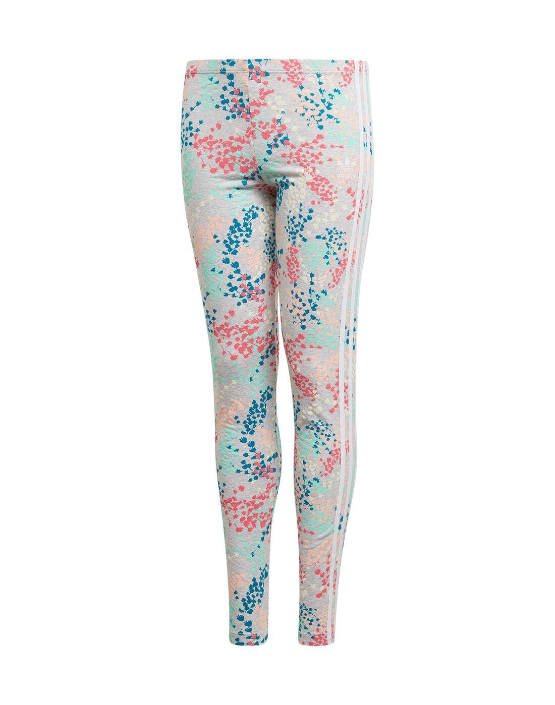 Legging Adidas Older Girls Originals Floral rCtshdxQ