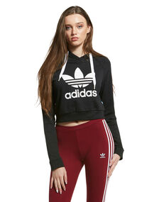 Womens Crop Hoody