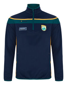 Mens Kerry Slaney Half Zip Top