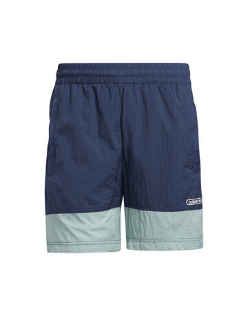 Mens Contrast Linear Logo Shorts