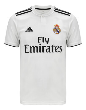 Adults Real Madrid 18/19 Home Jersey