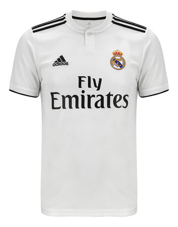a81c9a7ca Adults Real Madrid 18 19 Home Jersey ...
