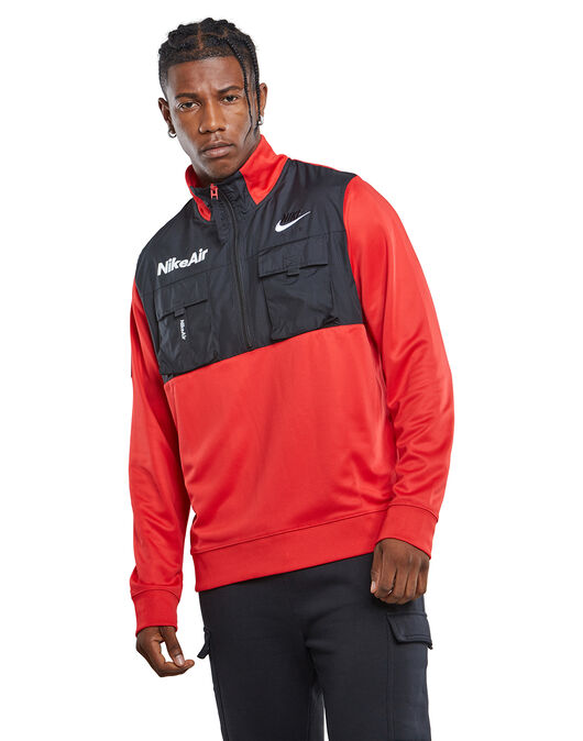 Mens Nike Air Half Zip Top