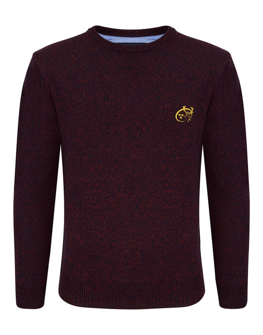 Mens Munster Mouline Crew Sweater