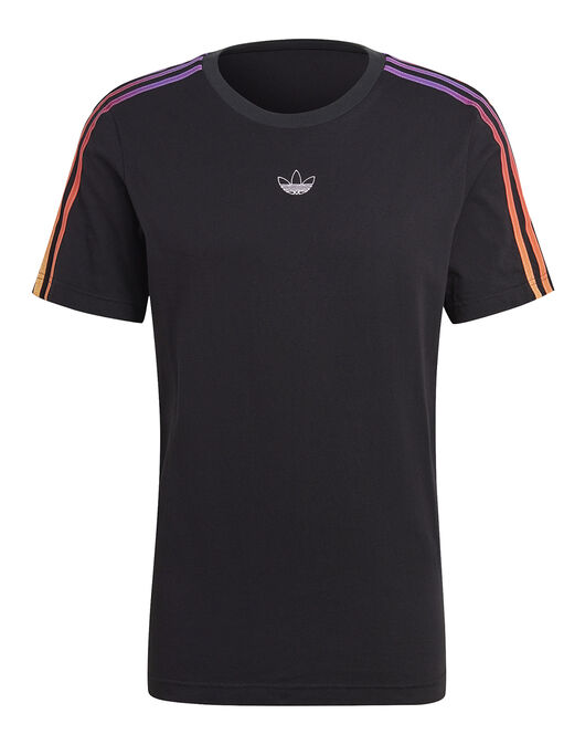 Mens 3 Stripe Contrast T-Shirt