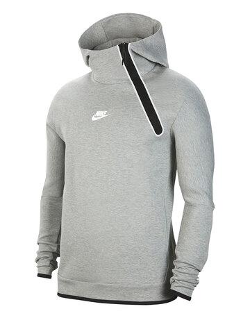 Mens Tech Fleece Reflective Hoodie