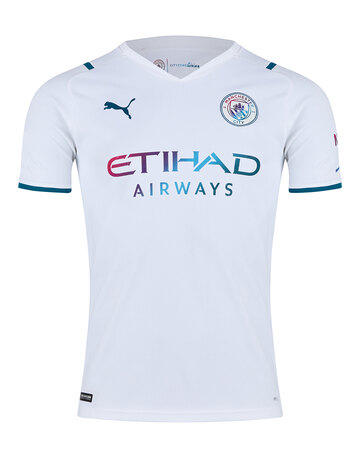 Adult Manchester City 21/22 Away Jersey