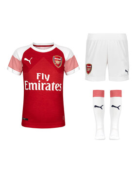 Kids Arsenal Home 18/19 Kit