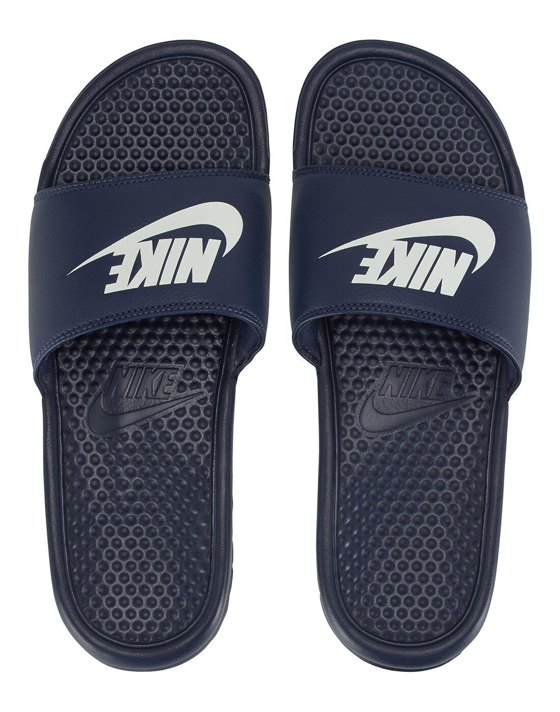 Nike Benassi Sliders | Navy | Life