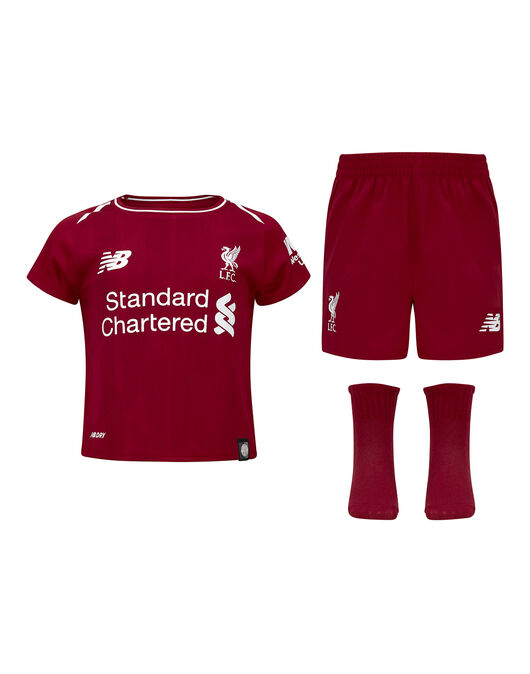 337cfd8d4 Infants Liverpool 18 19 Home Kit