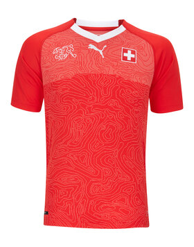 Kids Switzerland Home WC18 Jersey