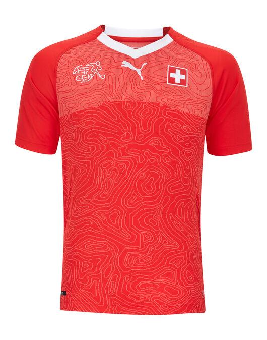 Kids Switzerland Home WC18 Jersey