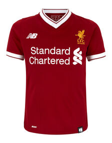 Kids Liverpool 17/18 Home Jersey