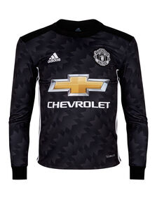 Kids Man Utd 17/18 Away Jersey LS