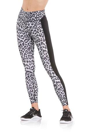 Womens One Leopard Leggings