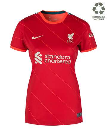 Womens Liverpool 21/22 Home Jersey