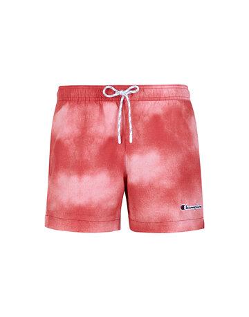 Mens Tie Dye Crew Neck Shorts