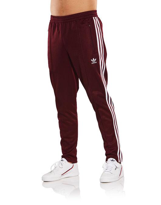 Men s Burgundy adidas Originals Track Pants  ff8a722138