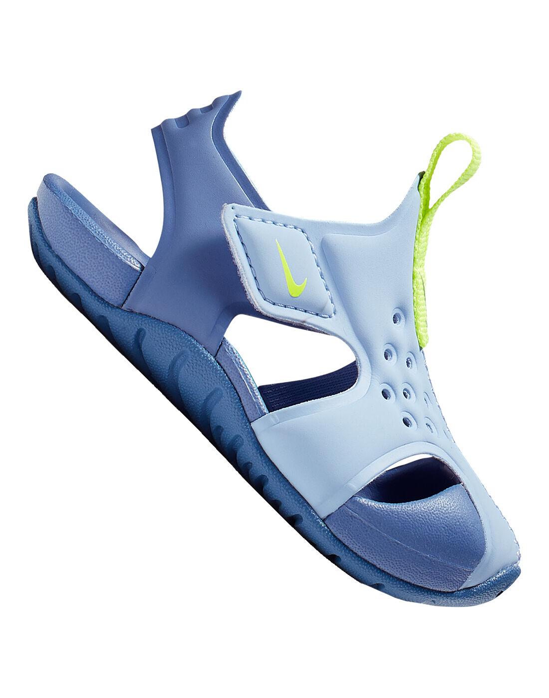 Infant Blue Nike Sandles   Life Style