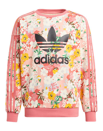 Older Girls Floral Sweatshirt