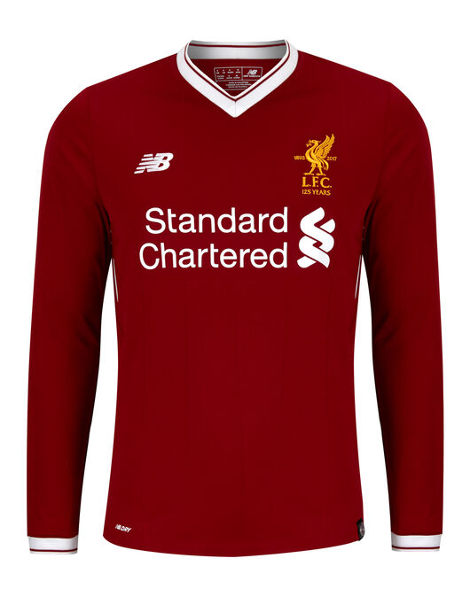 Adult Liverpool 17/18 Home Jersey LS