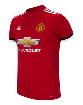 Adult Man Utd 17/18 Home Jersey