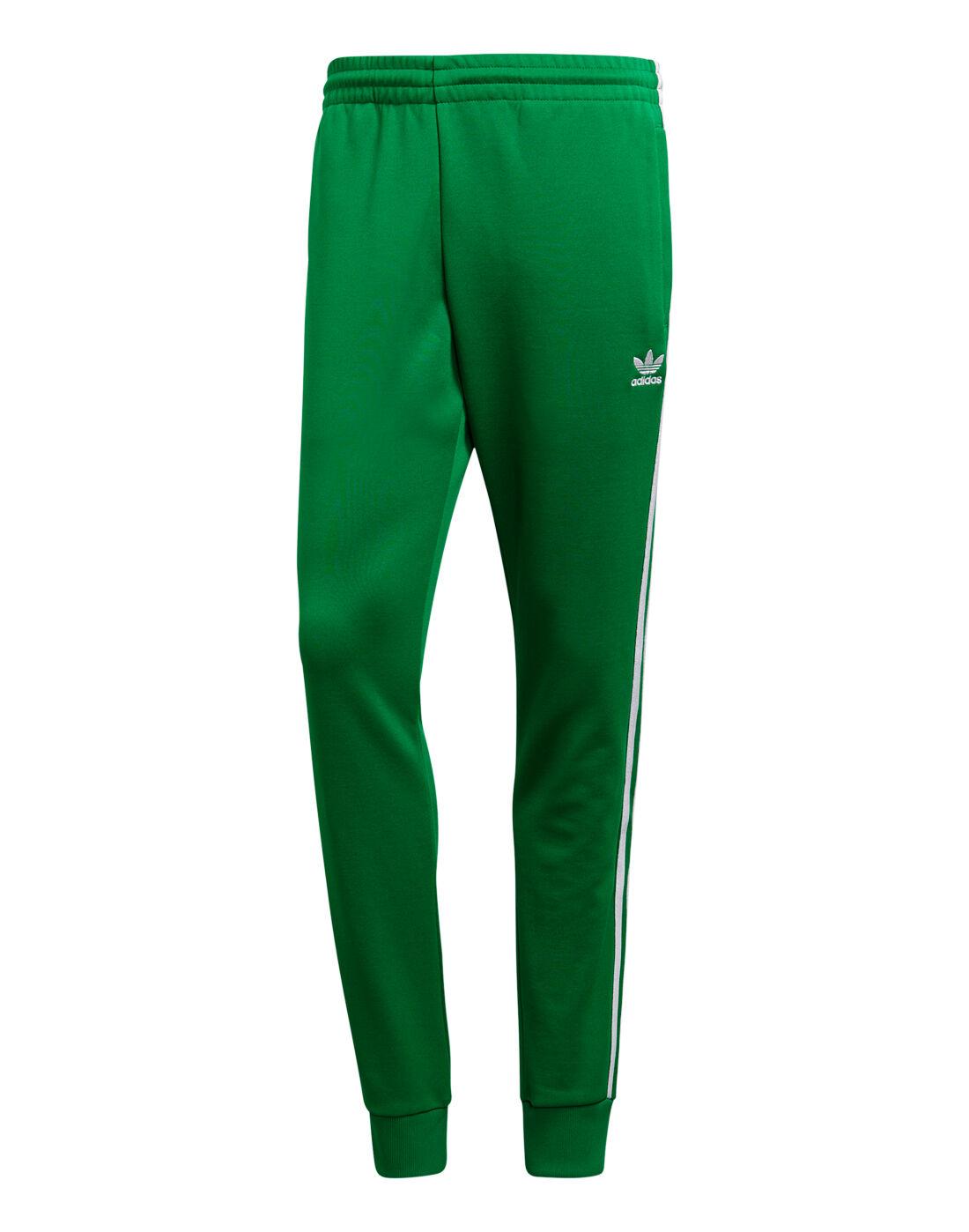 Men's Green adidas Originals Superstar