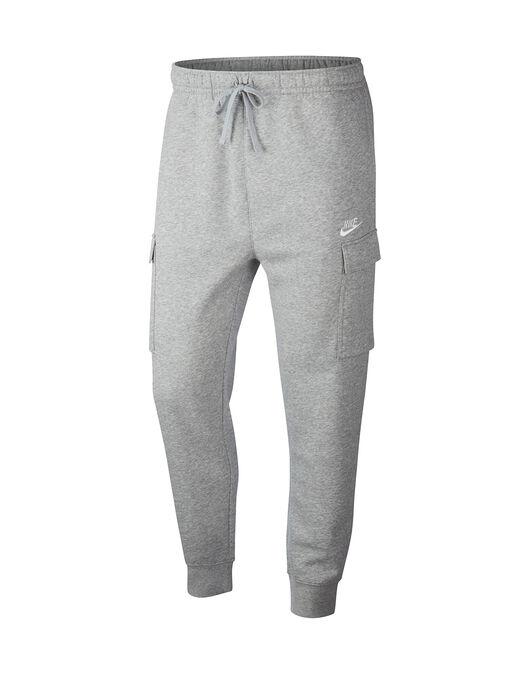 Mens Fleece Cargo Pants