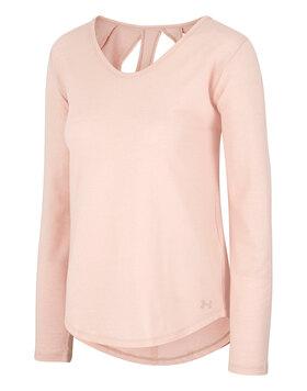 Womens Pindot Long Sleeve T-Shirt