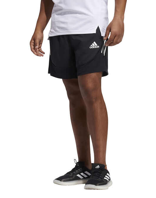 Mens Aero 3 Stripe Shorts
