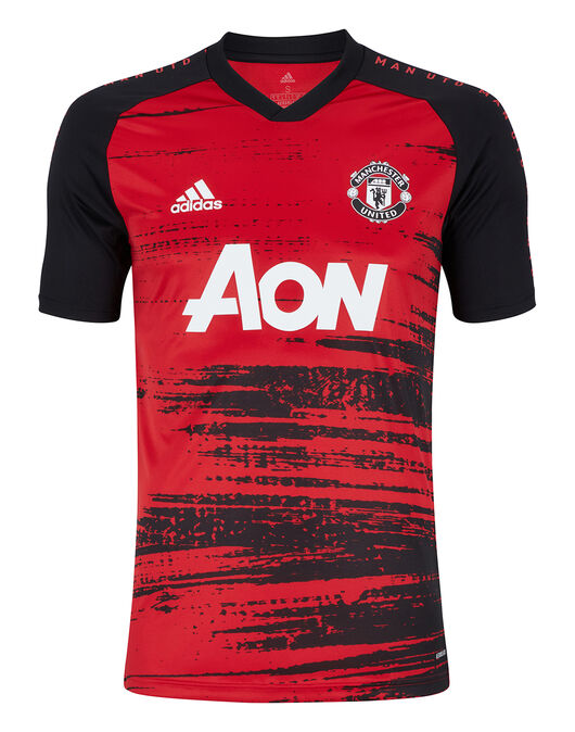 Adidas Adult Man Utd 20 21 Pre Match Jersey Red Life Style Sports Ie