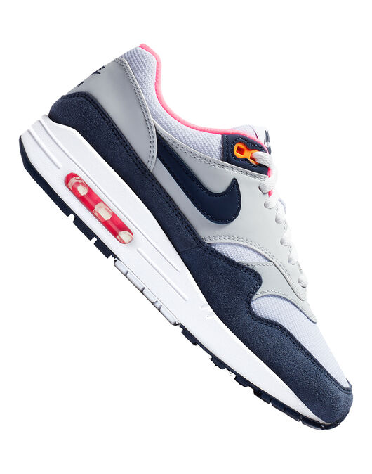 1c81237eb Women s Navy   Pink Nike Air Max 1