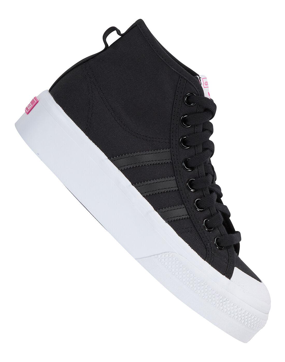 shoes platform adidas women
