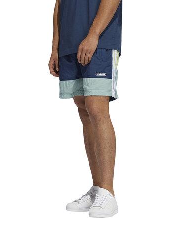 Mens Contrast Linear Logo Shorts